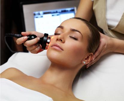 women receiving skin treatment medical travel services korea