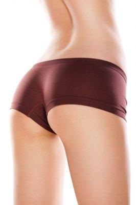 Picture of women's butt after going through butt augmentation surgery