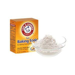naturally remove hair with baking soda